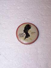 "Vintage Armand Cold Cream Powder 1 5/8"" diameter empty purse size tin"