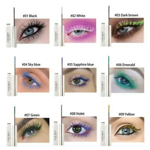 HANDAIYAN Colorful Waterproof Makeup Mascara Cream Eyelashes Curling Lasting
