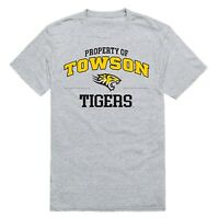 Towson University Tigers NCAA College Logo Workout T-Shirt S-2XL