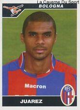 034 JUAREZ BRAZIL BOLOGNA.FC SERVETTE GENEVE STICKER CALCIATORI 2005 PANINI