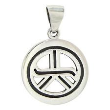 Sterling Silver Tam A Ra Sha Reiki Pendant Energy Attunement Grounding Jewelry