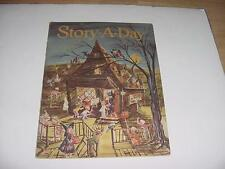 Vintage Oct.1953 STORY-A-DAY Magazine w/HALLOWEEN Cover-Kids at Witch's House