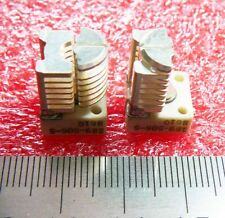 22pF - Air Variable Capacitor - Solid Brass Silver Plated - PCB Vertical Mounted
