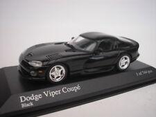Dodge Viper Coupe 1993 Black 1/43 Minichamps 430144024 NEW