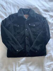 levis corduroy jacket mens medium