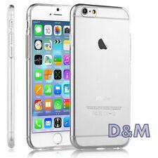 Cover per iPhone 6 6S Apple Ultra Custodia Slim TPU Gel Trasparente + Pellicola