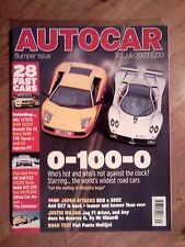 AUTOCAR MAGAZINE 30-JUL-03 - Nissan 350Z, Mazda RX-8, BBR Mini Cooper S, Touran