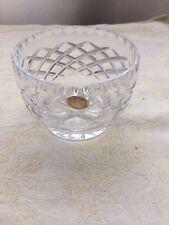 Polish Made Crystal trinket Dish small