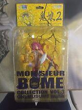Kaiyodo Mon-Sieur Bome Vol. 3 Oni-Musume She-Devil Version 2 Statue Figure.