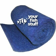 "5-ft ROLL Blue Rigid Coarse Pond Aquarium Media Pad 12""x5' Poly Filter Material"