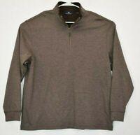 Hart Schaffner Marx Men's X-Large 1/4 Zip Pullover Long Sleeve Sweater