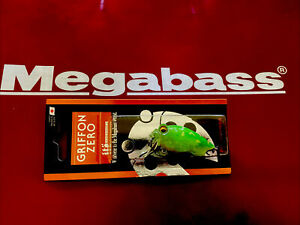 Megabass Respect Series Crystal Lime Frog Griffon Zero Sold Out Ships From USA!!