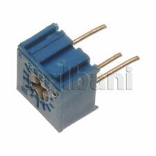 10pcs @$1.50 3362P-1-105LF Bourns Trimpot Cermet Trimmer POT 1 Turn .5W 1M Ohm