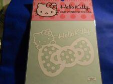 Hello Kitty Car Window Decal Rainbow design