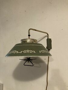Gerald Thurston/Lightolier Style MCM Counter Balanced Saucer Wall Lamp As-Is