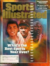 1998 Sports Illustrated: What's the Best Sports Year Ever?/Babe Ruth/Jordan/Ali