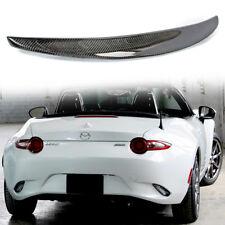 Carbon Fiber P Style Trunk Spoiler Wing (For Mazda) MX-5 Miata Convertible 16~18