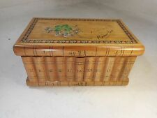 Vintage Novelty Book Box , Secret Drawer & Lock , Buenos Aires   ref 1911