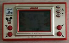 Nintendo Game & watch Wide Screen Mickey Mouse 1981