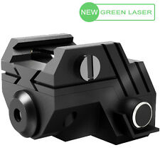 Tactical RECHARGEABLE Green Laser for picatinny & weaver rails. Pistol, rifle