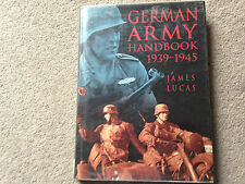 The German Army Handbook HB James Lucas