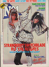 Strawberry Switchblade on Magazine Cover 23 March 1985   Tears For Fears   King