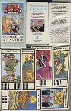 Castelli Alessandrini MARTIN MYSTERE TAROCCHI ATLANTIDE 22 Carte 1991 COME NUOVO
