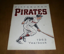 1963 PITTSBURGH PIRATES OFFICIAL YEARBOOK