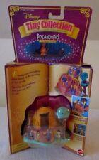 1995 Disney Tiny Collection POCAHONTAS POWHATAN HOME~Polly Pocket~Bluebird~New