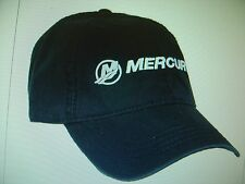 "MERCURY OUTBOARDS PARTS ""NEW"" * MERCURY NAVY ""CAP HAT"""