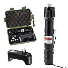 Pointeur Stylo Laser Vert Visible Faisceau Puissant Vert Cap + Chargeur EU
