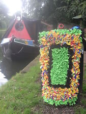 Narrow/Canal boat Rag rug making starter kit with instructions- ideal gift