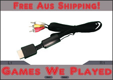 Playstation Console AV Cable Cord PS1 PS2 PS3 Aftermarket Leads