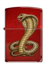 Zippo 8951 cobra snake candy apple red Lighter