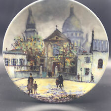 Vtg Collectible Plate Saint Pierre Lez Douze Societe de paris et Son Histoire