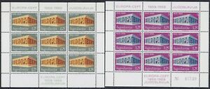 Yugoslavia 1969 Europa CEPT - 2nd issue, Mini sheet, MNH