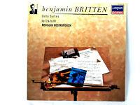 LP Benjamin Britten Cello Suites Op.72 & Op.80 Decca 417 309-1