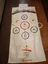 1992 BARCELONA OLYMPIC GAMES HUGE COBI KOBI MASCOT LEISURE SHEET + HANDKERCHIEF