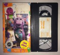 Barney - Barneys Birthday (VHS, 1992) RARE