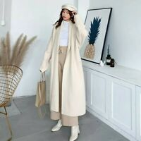 NEW beige alpaca knit cardigan loose jacket one size uk 8 10 12 winter 2020 2021