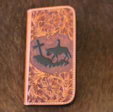 Western Cell Phone Cover Iphone 6 Leather Cowboy Case Protect Cross Religious