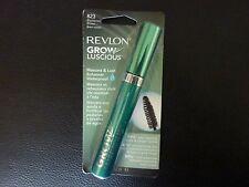 Revlon Grow Luscious WATERPROOF Mascara - BLACKENED BROWN  #823 - New / Sealed