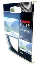 Original Canon Filter UV Haze 67mm Scratch Protection