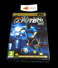 FX FUTBOL 2015 PC DVD Pal-España Español New Factory SEALED Precintad Castellano