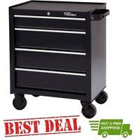Toolbox Mechanics Storage 4-Drawer Steel Rolling Tool Chest Cabinet Box Garage