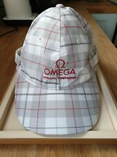 Brand New & Very Rare Omega Double Peak Baseball Cap - Highly Collectable