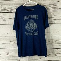 LUCKY BRAND Men's Graphic T-Shirt Choose Design and Size XL - NWOT