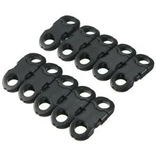 20pc Buckles For Bracelets Plastic Clasp Curved Webbing Side Release I6Z1
