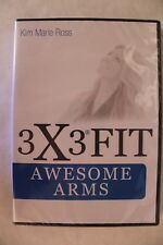 3X3 Fit - Awesome Arms - Kim Marie Ross - Workout Video - Dvd