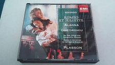 """CD """"ROMEO ET JULIETTE"""" 3CD 724355612328 MICHEL PLASSON ROBERTO ALAGNA GHEORGHIU"""